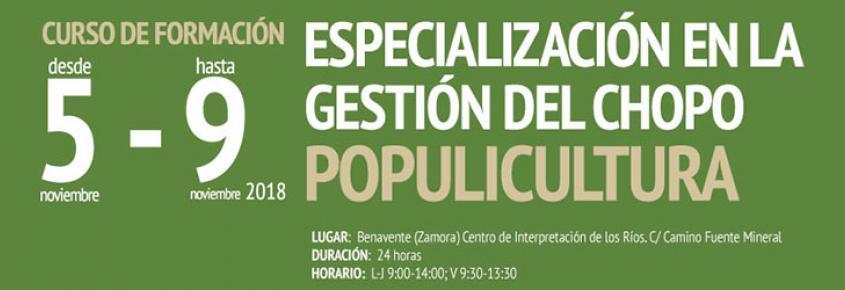 Cesefor imparte un curso sobre populicultura en Benavente Zamora populuscyl